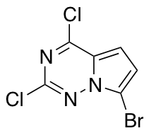 7-Bromo-2,4-dichloropyrrolo[2,1-f][1,2,4]triazine