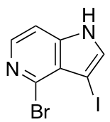 4-Bromo-3-iodo-5-azaindole