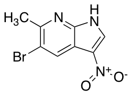 5-Bromo-6-methyl-3-nitro-7-azaindole