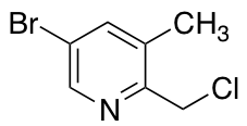 5-Bromo-2-(chloromethyl)-3-methylpyridine