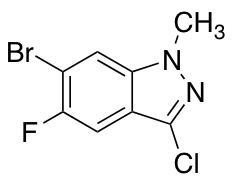 6-Bromo-3-Chloro-5-Fluoro-1-Methyl-1h-Indazole