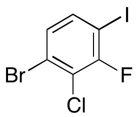 1-Bromo-2-chloro-3-fluoro-4-iodobenzene