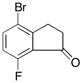 4-Bromo-7-fluoro-2,3-dihydroinden-1-one