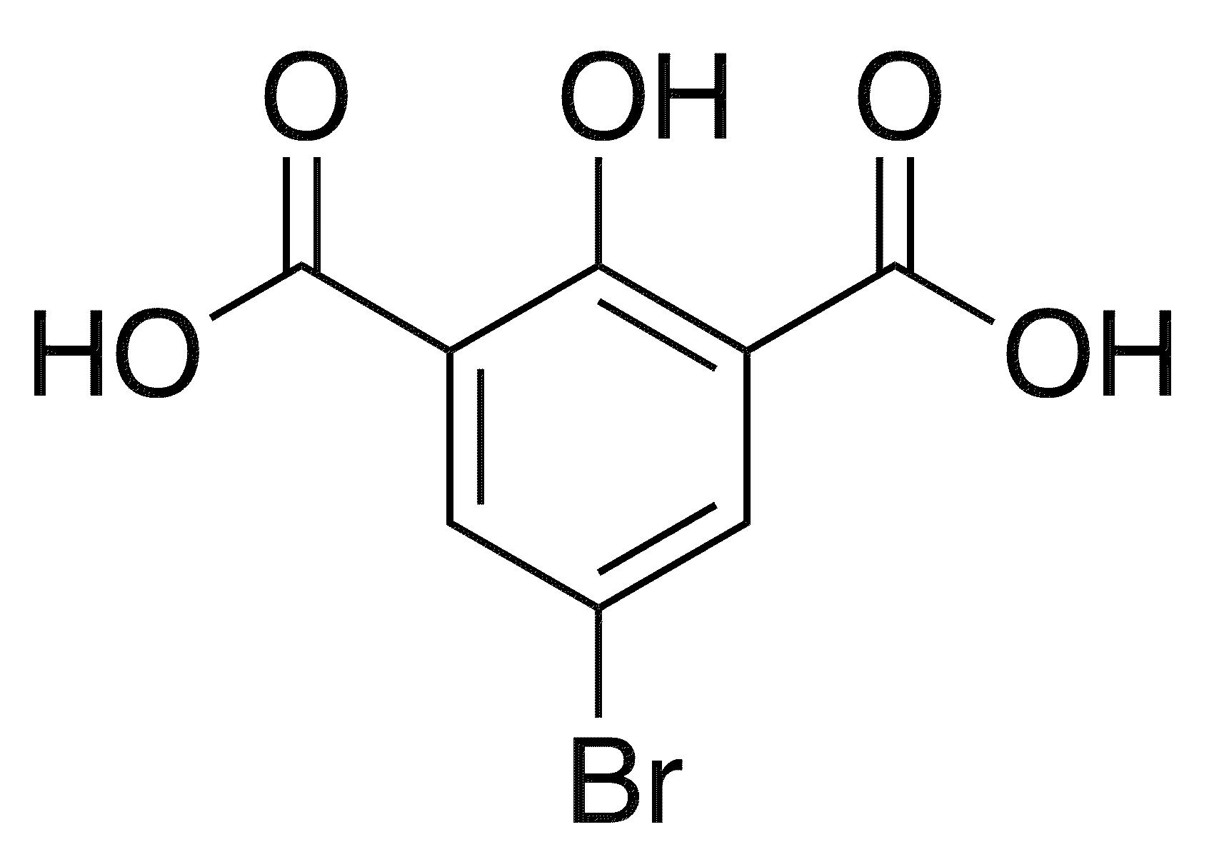 5-Bromo-2-hydroxybenzene-1,3-dicarboxylic acid