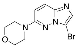 4-(3-Bromoimidazo[1,2-b]pyridazin-6-yl)morpholine