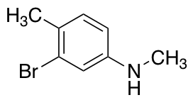 3-Bromo-n,4-dimethylaniline