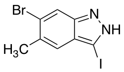 6-Bromo-3-iodo-5-methyl (1H)Indazole