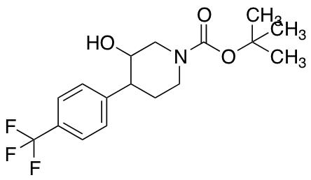 tert-Butyl 3-Hydroxy-4-[4-(trifluoromethyl)phenyl]piperidine-1-carboxylate