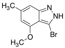 3-Bromo-4-methoxy-6-methyl 1H-Indazole