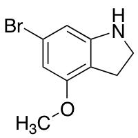 6-Bromo-4-methoxy (1H)Indolin
