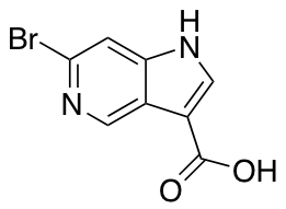 6-Bromo-1H-pyrrolo[3,2-c]pyridine-3-carboxylic Acid
