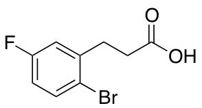 3-(2-Bromo-5-fluorophenyl)propanoic Acid