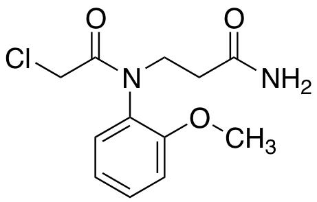 3-[2-Chloro-n-(2-methoxyphenyl)acetamido]propanamide