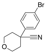 4-(4-Bromophenyl)oxane-4-carbonitrile