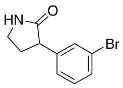 3-(3-Bromophenyl)pyrrolidin-2-one
