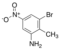 3-Bromo-2-methyl-5-nitroaniline