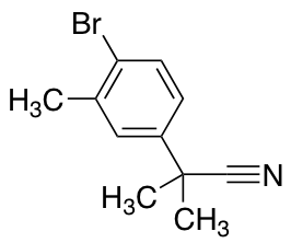 2-(4-Bromo-3-methylphenyl)-2-methylpropanenitrile