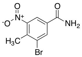 3-Bromo-4-methyl-5-nitrobenzamide