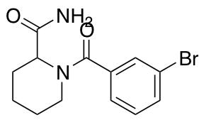 1-(3-Bromobenzoyl)piperidine-2-carboxamide