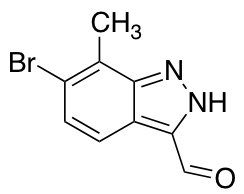 6-Bromo-7-methyl-3-formyl (1H)Indazole