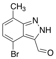 4-Bromo-7-methyl-3-formyl (1H)indazole