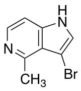 3-Bromo-4-methyl-5-azaindole