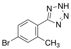 5-(4-Bromo-2-methylphenyl)-1H-tetrazole