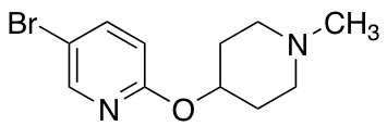 5-Bromo-2-[(1-methyl-4-piperidinyl)oxy]-pyridine