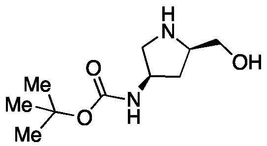 tert-Butyl ((3R,5R)-5-(hydroxymethyl)pyrrolidin-3-yl)carbamate