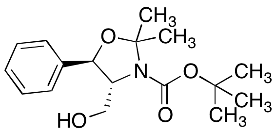 tert-Butyl (4R,5R)-4-(Hydroxymethyl)-2,2-dimethyl-5-phenyl-1,3-oxazolidine-3-carboxylate