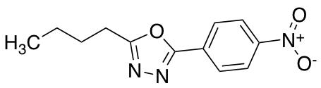 2-Butyl-5-(4-nitrophenyl)-1,3,4-oxadiazole