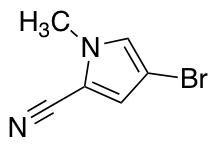 4-bromo-1-methyl-1H-pyrrole-2-carbonitrile