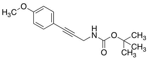 tert-Butyl N-[3-(4-Methoxyphenyl)prop-2-yn-1-yl]carbamate