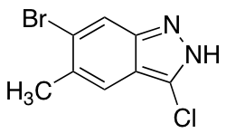 6-Bromo-3-chloro-5-methyl (1H)Indazole