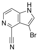 3-Bromo-4-cyano-5-azaindole