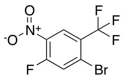 1-Bromo-5-fluoro-4-nitro-2-trifluoromethyl-benzene