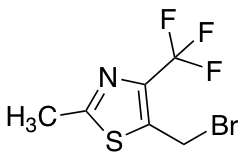 5-(Bromomethyl)-2-methyl-4-(trifluoromethyl)-1,3-thiazole