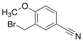 3-(Bromomethyl)-4-methoxybenzonitrile