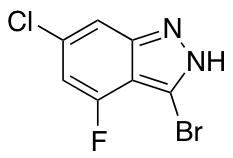 3-Bromo-6-chloro-4-fluoro (1H)indazole