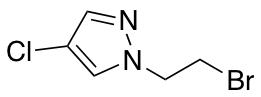 1-(2-Bromoethyl)-4-chloro-1H-pyrazole