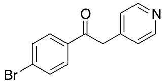 1-(4-Bromophenyl)-2-(4-pyridinyl)-ethanone