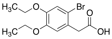 2-(2-Bromo-4,5-diethoxyphenyl)acetic Acid