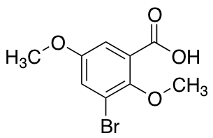 3-Bromo-2,5-dimethoxybenzoic Acid