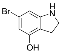 6-Bromo-4-hydroxy (1H)indolin