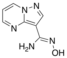 N'-hydroxypyrazolo[1,5-a]pyrimidine-3-carboximidamide