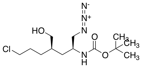 N-[(1S,3R)-1-(Azidomethyl)-6-chloro-3-(hydroxymethyl)hexyl]-carbamic Acid 1,1-Dimethylethyl Ester