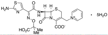 Ceftazidime Pentahydrate (Contain 1 equivalent of Na2CO3 as stabilizer)