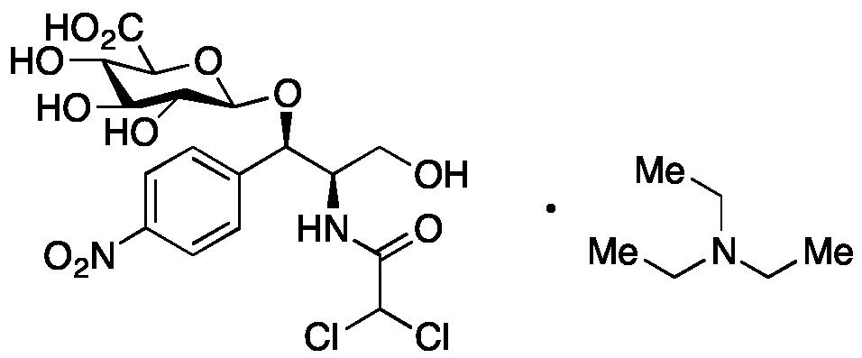 Chloramphenicol 1-O--D-Glucuronide Triethylammonium Salt