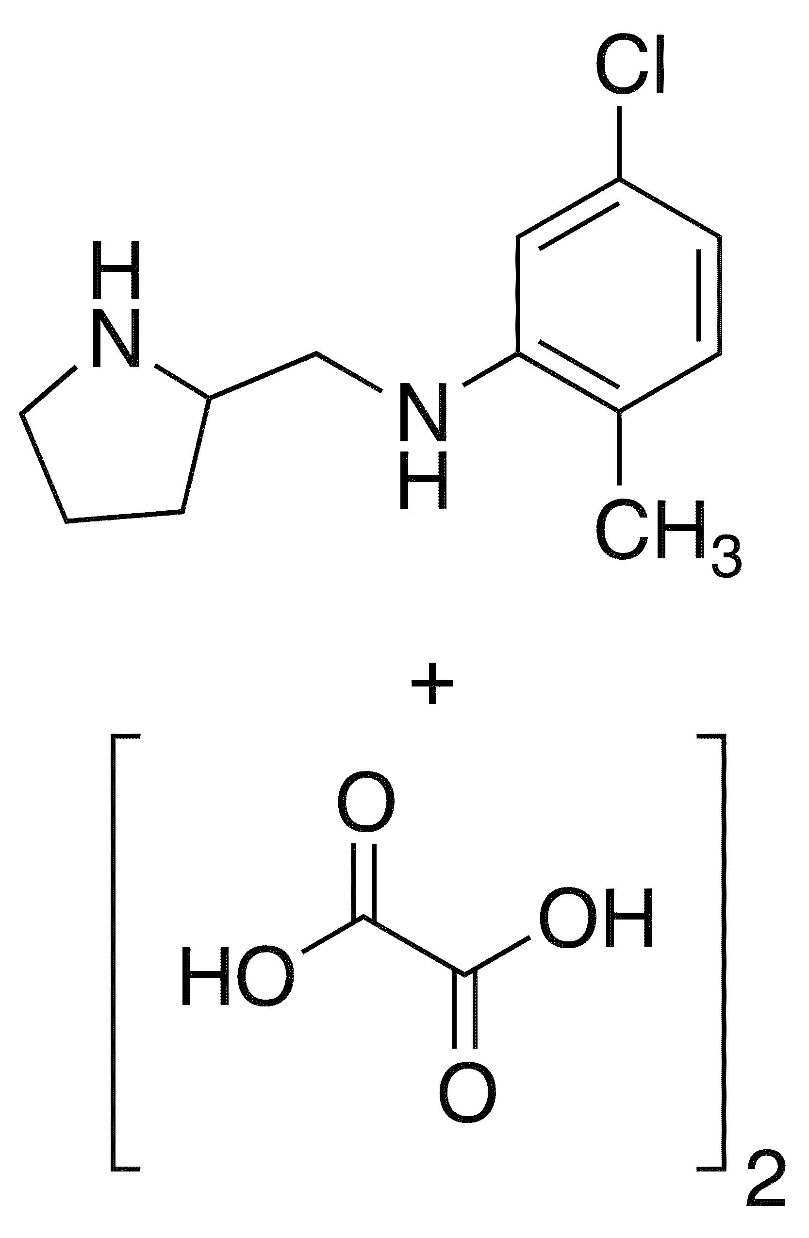 5-Chloro-2-methyl-n-(2-pyrrolidinylmethyl)aniline Dioxalate