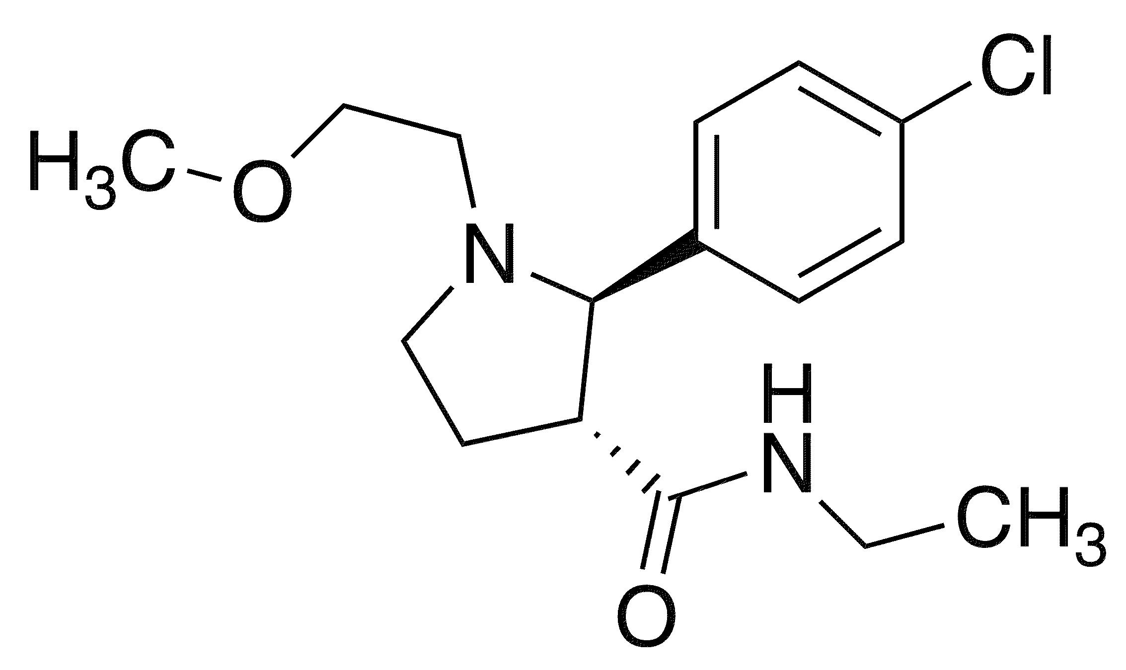 (2R,3R)-2-(4-Chlorophenyl)-n-ethyl-1-(2-methoxyethyl)pyrrolidine-3-carboxamide